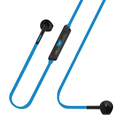 Auricolari BK-BLU Sport Fashion Bluetooth 4.1 Cuffie Chip CSR Multipoint Audio Stereo e microfono - Confezione con cavo Microusb, Manuale - Cuffie senza fili per Iphone, Samsung, Xiaomi, Huawei, Sony e tutte le periferiche bluetooth