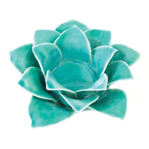 Blue Lotus Candleholder