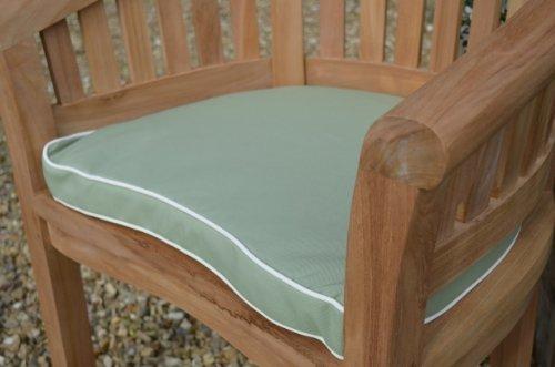 Luxus Garten Banane Sessel Stuhl Polster Kissen mit Premium Füllung und Stoff – Kissen Nur – Olivgrün jetzt bestellen