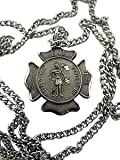 Fireman pendant necklace gift