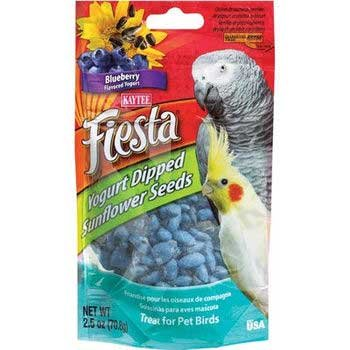 Image of 2 PK Kaytee Fiesta Yo Dips Avian Sunflower/blueberry 2.5oz (B00943TTK6)
