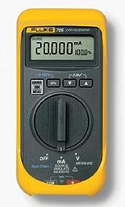 Fluke 705 Loop Calibrator, 28V Voltage, 24mA Current, 0.025 percent Accuracy