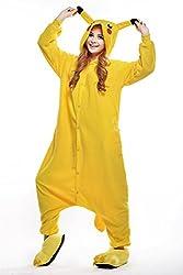VU ROUL Girl's Adult Clothing Kigurumi Cosplay Costume Pikachu Pyjamas