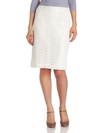 Pendleton Women's Petite Lindsay Lace Skirt, Ivory Lace, 2