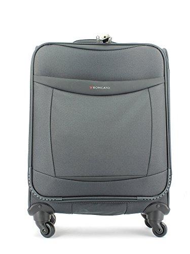 Trolley Bagaglio Cabina RONCATO ATLANTA Antracite 4 Ruote ultralight 2.00kg art.1790 Approvato Ryanair