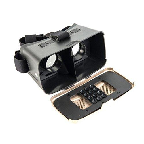 CoperÂHotsale Virtual Reality 3D Glasses + Bluetooth Controller Gamepad, Model: HZQ51203243GD, Electronic Store