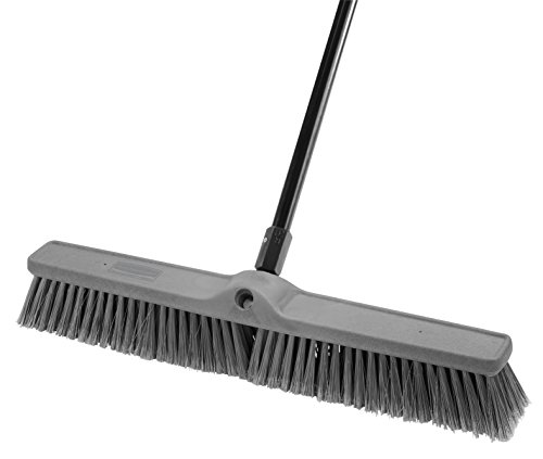 Rubbermaid Commercial Executive Series Smooth Surface Fine-Duty Sweep, Plastic Broom Head, 24