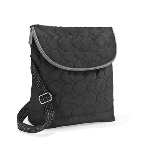 Thirty One Vary You Backpack Purse Black Quilted Dots - 4196 (Quilted Backpack Purse compare prices)