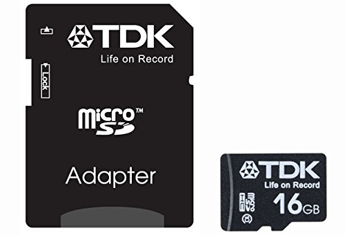 [Amazon.co.jp limited edition] TDK microSDHC card 16 GB Class10 (5 year warranty) [frustration-free package (FFP)] T-MCSDHC16GB10-FFP