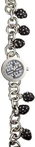 Miss Sixty Just time SCE001 - Reloj para niñas de cuarzo, correa de acero inoxidable color plata