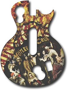 Guitar Hero Faceplate -- Motley Crue -- Playstation 3 and Xbox 360 (Les Paul Controller)