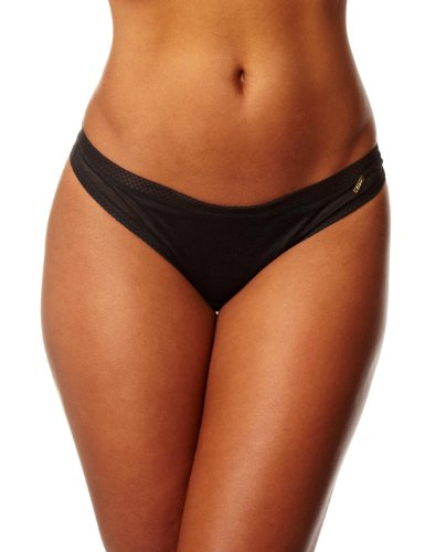 Gossard Glossies Thong Black Womens Shorts Black