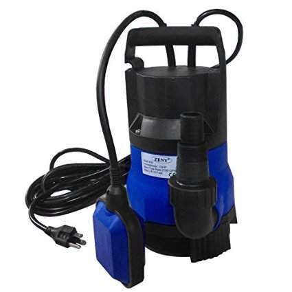 Zeny 2000gph Submersible Clean Dirty Water Pump 1 2hp