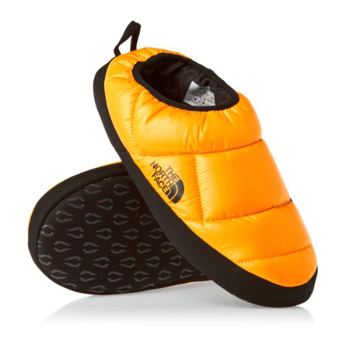Cheap The North Face Nuptse Tent Mule III Slippers – Shiny TNF Yellow/TNF Black (B009ZRYNQQ)