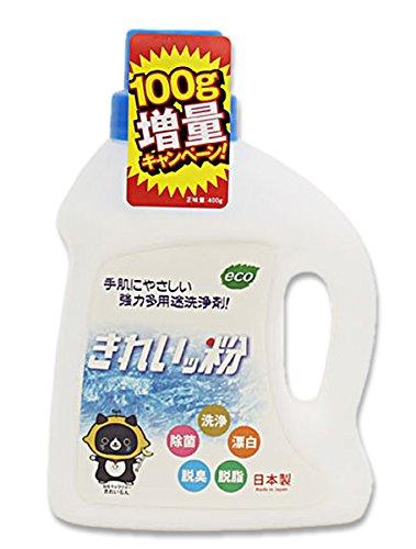 過炭酸ナトリウム(酸素系)洗浄剤 『きれいッ粉』 (期間限定400g)