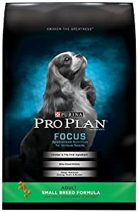 Purina Pro Plan Dry Dog Food, Adult Small Breed Formula, 6 Pound