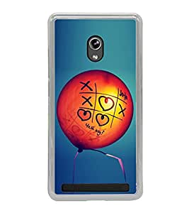 Love Balloon 2D Hard Polycarbonate Designer Back Case Cover for Asus Zenfone 5 A501CG :: Asus Zenfone 5 Intel Atom Z2520 :: Asus Zenfone 5 Intel Atom Z2560