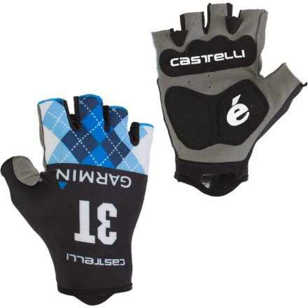 Buy Low Price Castelli Garmin Roubaix Gloves (B007ZBSONW)