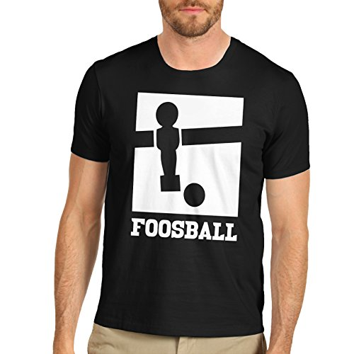 Men-Cotton-Novelty-Funny-Design-Foosball-T-Shirt
