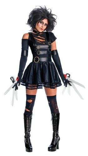 Miss Scissorhands - Secret Wishes -Adult Fancy Dress Costume - 3 Sizes from 6 to 18