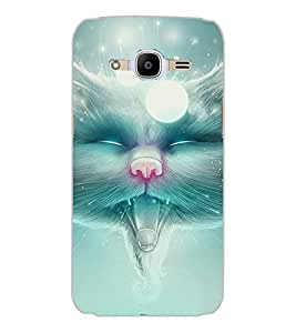 SAMSUNG GALAXY J2 2016 WILD CAT Back Cover by PRINTSWAG