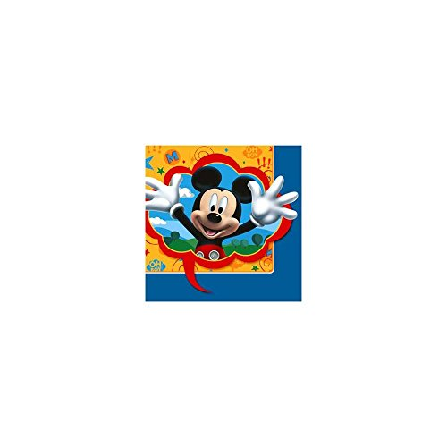 Hallmark Unisex Adult Disney Mickey Fun and Friends Lunch Napkins Black Medium