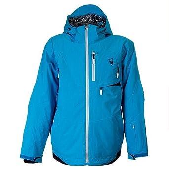Amazon.com : Spyder Men's Enforcer Jacket, Blue Neon