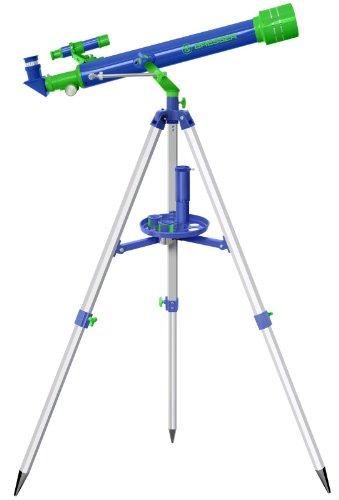 Bresser Junior 60/700Mm Telescope - Green/Blue