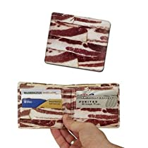 The Crazy white elephant gift is a bacon wallet
