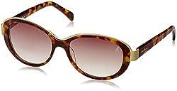 Guess Marciano UV Protected Wayfarer Women's Sunglasses - (GM667HNY-3455|50|Brown lens)