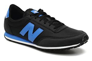 New Balance U410 Shoes - Black/Blue