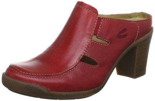 Camel active Parma 13 Clogs And Mules Women Red Rot (red) Size: 7 (41 EU)