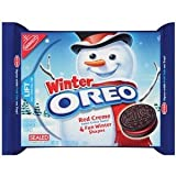 OREO - COOKIES - WINTER RED CREME