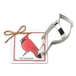 Ann Clark Cardinal Cookie Cutter - 5.5 Inches - Tin Plated Steel