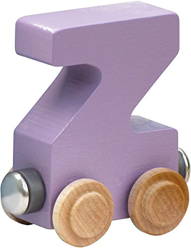 NameTrain Pastel Finish Letter Cars - Z