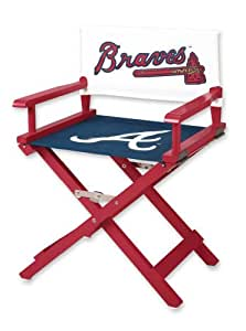 Guidecraft G11515 Atlanta Braves Director S Kids Folding Chair