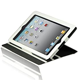 Splash Signature Folio Leather Case for The New iPad - Side
