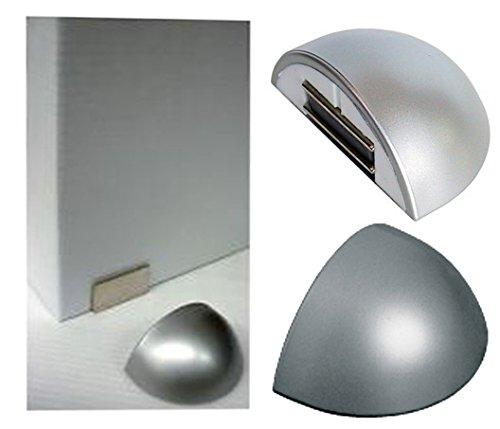 FERMAPORTE MAGNETICO CON BIADESIVO AP123 ALLUMINIO Confezione da 10PZ