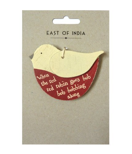 east-of-india-wooden-red-robin-christmas-tree-hanger-decoration