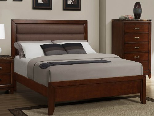 Leather Beds For Sale 5392 front