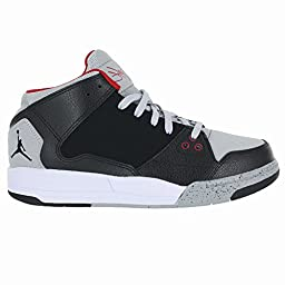 Air Jordan Flight Origin (Preschool) - Black / Wolf Grey-Gym Red-Black, 12.5 M US