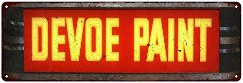 Devoe Paint Vintage Look Reproduction 6x18 Metal 6180107 (Devoe Paint compare prices)
