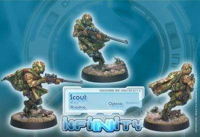 Scout (Ojotnik) (1) Ariadna Infinity Corvus Belli