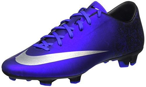 Nike Mercurial Victory V CR7 FG - Scarpe da Calcio Uomo, Blu (Deep Royal Blue/Metallic Silver-Racer Blue-Blue), 43 EU