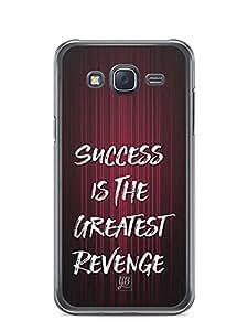 YuBingo Success is the Greatest Revenge Designer Mobile Case Back Cover for Samsung Galaxy J5