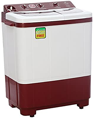 Videocon VS73J11 Niwa+ Semi-automatic Top-loading Washing Machine (7.3 Kg, Dark Maroon)