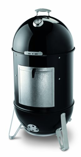 Best Review Of Weber 731001 Smokey Mountain Cooker 22-1/2-Inch Charcoal Smoker, Black