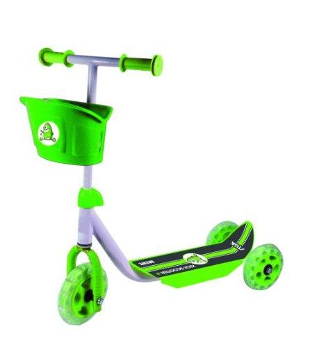 Stiga -  Mini Kid 3W, Monopattino con 3 ruote colore: Verde/Nero