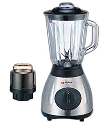 Alpina SF-1012 Electric 220V Stainless Steel Kitchen Countertop Blender with Grinder Attachment(Not for USA)