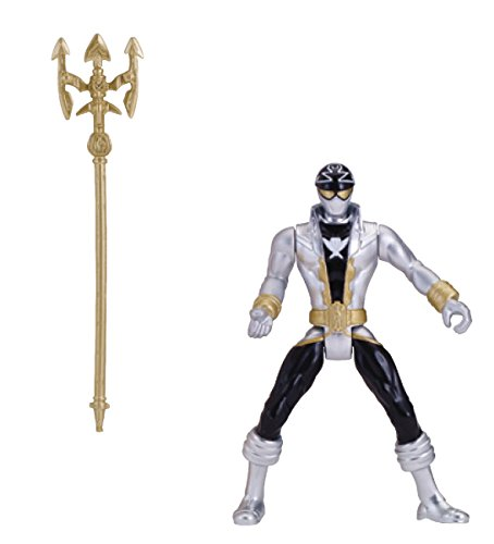 "Power Rangers Super Megaforce - 4"" Silver Ranger Action Figure - 1"